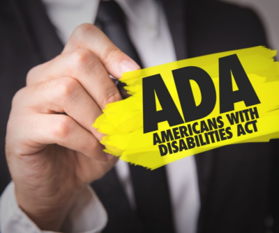Graphic for Blog on Ada Compliance for your Website
